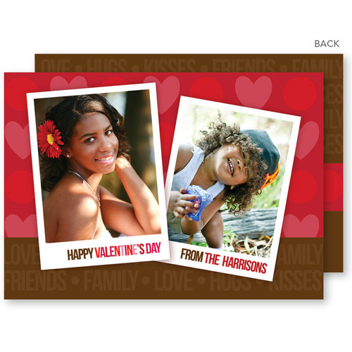 Happy Valentines Card | Full Of Hearts