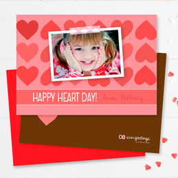 Full Of Hearts Kids Valentines Cards