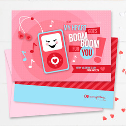 Valentine's Day Card Exchange At School | Pink Boom Boom For You