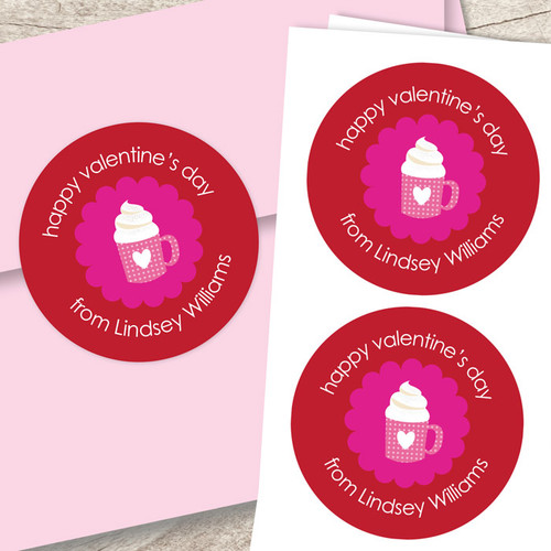A Cup Of Sweetness Address Labels