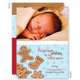 Yummy Xmas Cookies Christmas Photo Cards