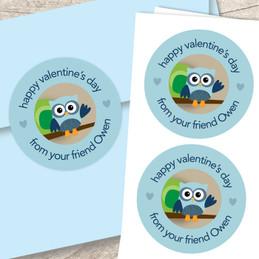 Owl Be Your Boyfriend Custom Stickers