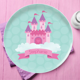 A Castle In The Sky Kids Dinnerware