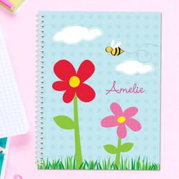 Spring Flowers Kids Notebook