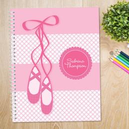 My Ballerina Shoes Kids Notebook