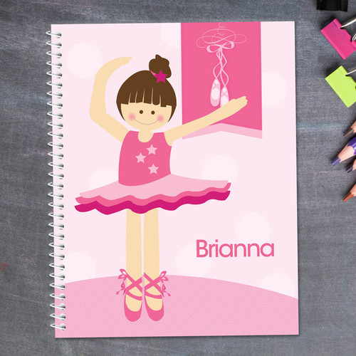 Love for Ballet Kids Notebook