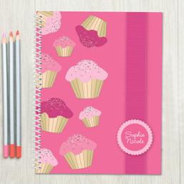 Sweet Cupcakes Kids Notebook