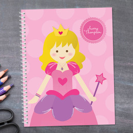 Cute Princess Kids Notebook