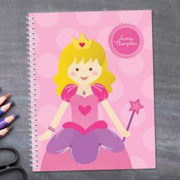 Cute Princess Kids Notebook