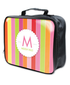 Bold & Fun Stripes Soft Lunch Bag
