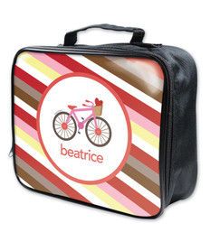 A Lovely Girl Ride Soft Lunch Bag