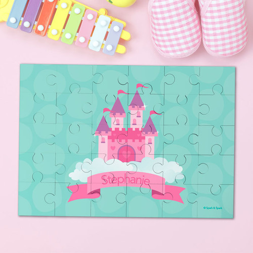 A Castle In The Sky Personalized Puzzles By Spark & Spark