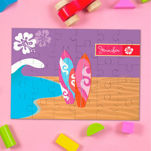 Surfing The Waves Personalized Puzzles By Spark & Spark