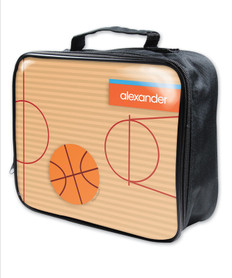 Basketball Fan Boy Soft Lunch Box
