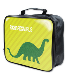 Dino and Me Green Soft Lunch Bag