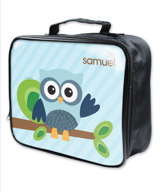 Owl Be Yours Blue Soft Lunch Bag