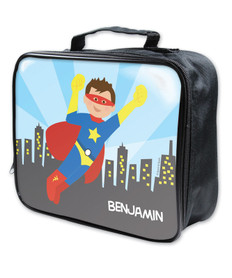 A Cool Super Hero Soft Lunch Bag