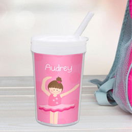 Love For Ballet Personalized Kids Cups