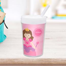 Cute Princess Personalized Kids Cups