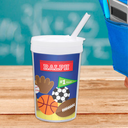 My Love For Sports Toddler Cup