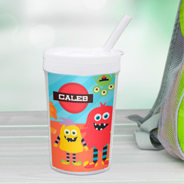 Monster Attack Toddler Cup