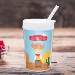 Cowboy Toddler Cup