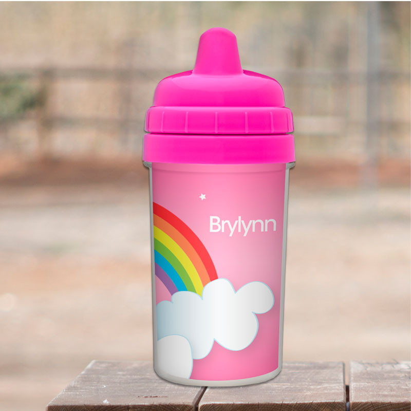 bac56032bc8 Dreamy Rainbow Sippy Cup
