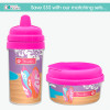 Surfing the Waves Customized No Spill Sippy Cup