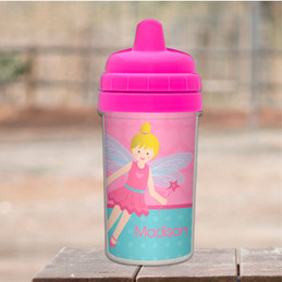Fairy Girl Personalized Sippy Cups