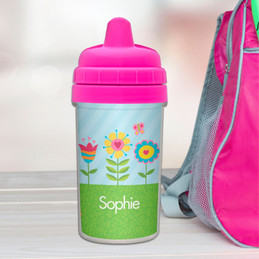 Best Sippy Cup for Baby with Spring Blooms