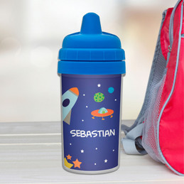 Rocket Launch Sippy Cup for boys