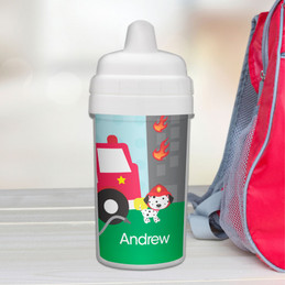 Fighting Fire Sippy Cup
