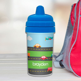 Cars Personalized Sippy Cups for Toddlers