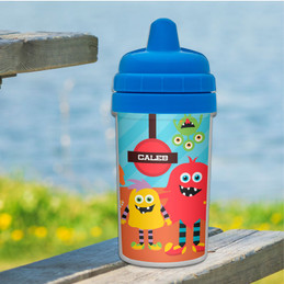 Monster Attack Boy Sippy Cups