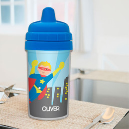 Cool Superhero Best Sippy Cups for Toddlers