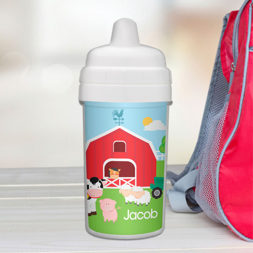 Best Sippy Cup for Milk with Farm Design