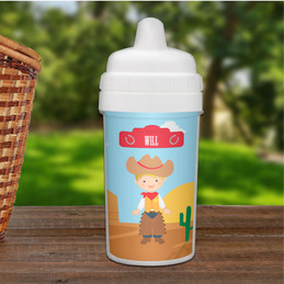 Cowboy Transition Sippy Cup