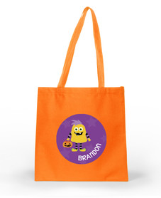 Halloween Monster personalized halloween bags