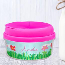 Spring Flowers Custom Snack Bowl