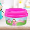 Sweet Little Princess Brunette Snack Bowls For Kids