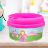 Sweet Little Princess Red Haired Snack Bowls For Kids