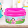 Sweet Little Princess Black Haired Snack Bowls For Kids