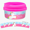 Cute Rainbow Pony Snackbowls For Toddlers