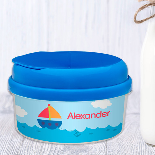 Sailing The Blue Ocean Customized Snack Bowl