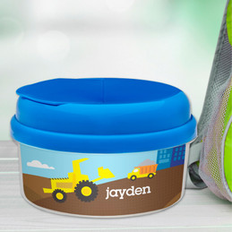 Construction Site Snackbowls For Toddlers