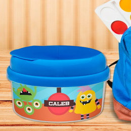 Monster Attack Snack Bowls With Lids