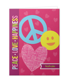 Peace and Love Signs Folder