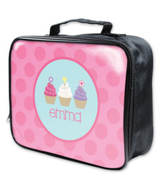 Three Sweet Cupcakes Soft Lunch Bag