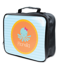 Cute Octopus Soft Lunch Bag