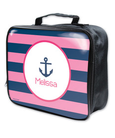 Let's Sail Pink Soft Soft Lunch Bag
